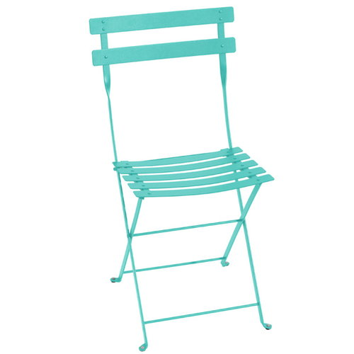 Fermob Bistro Metal chair, lagoon blue