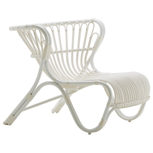 Sika-Design Fox chair, exterior, white