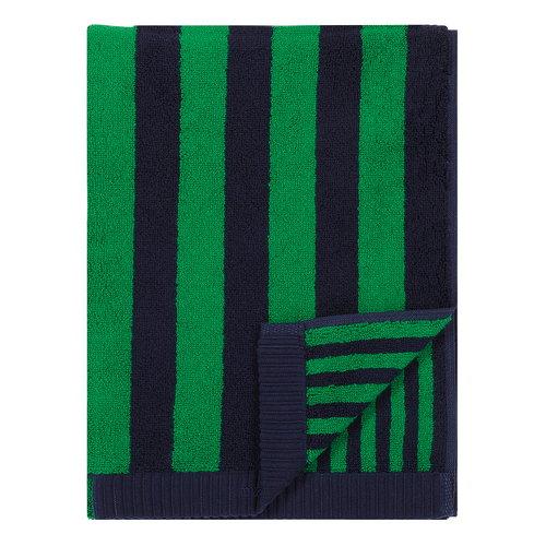 Marimekko Kaksi Raitaa hand towel, dark blue - green