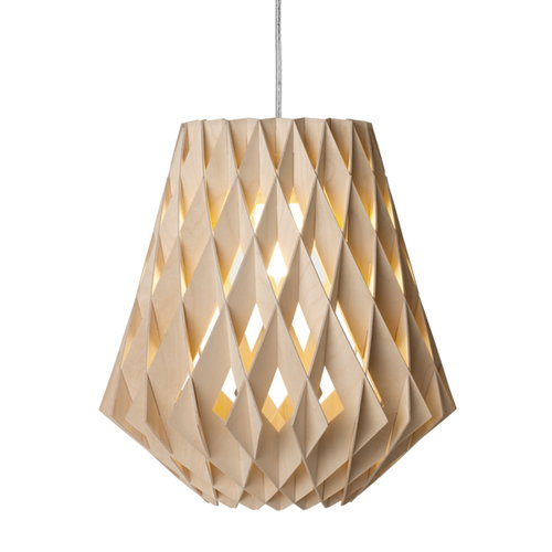 Showroom Finland Pilke 28 pendant, birch