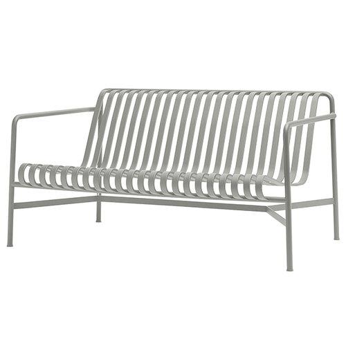 Hay Palissade lounge sofa, light grey