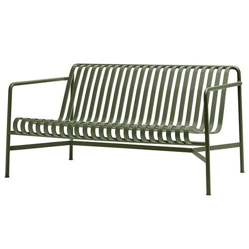 Hay Palissade lounge sofa, olive