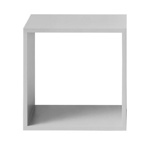 Muuto Stacked shelf module medium, light grey