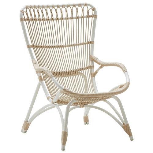 Sika-Design Monet chair, exterior, white