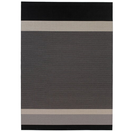 Woodnotes Panorama carpet, black-light grey
