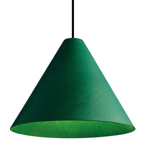 Hay 30degree pendant, medium, green