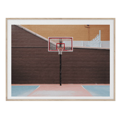 Paper Collective Cities of Basketball 07 (New York) juliste