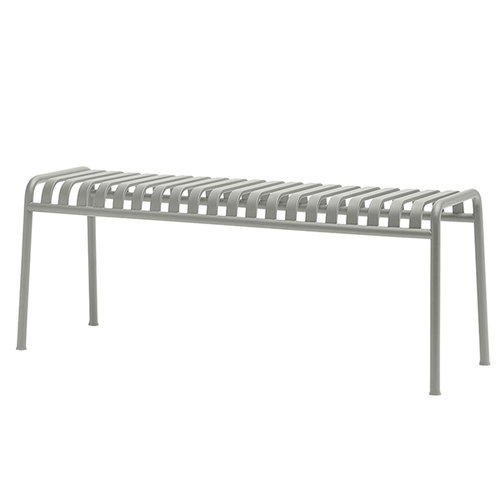 Hay Palissade bench, light grey