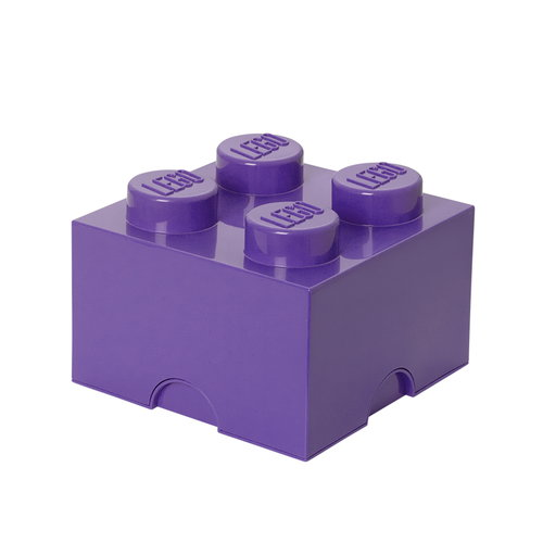 Room Copenhagen Lego Storage Brick 4, medium lilac