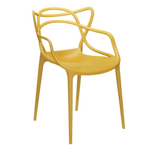 Kartell Masters chair, mustard