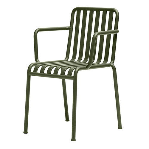 Hay Palissade arm chair, olive