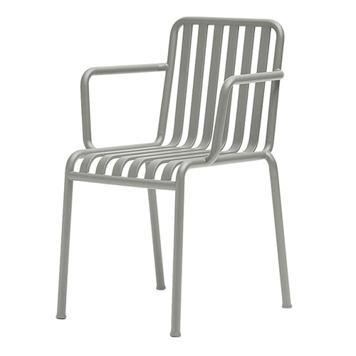Hay Palissade arm chair, light grey
