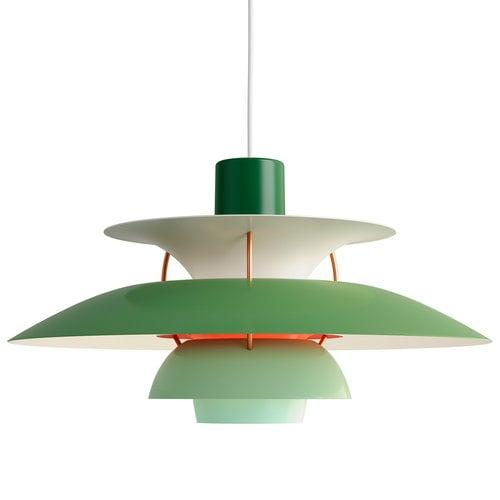 Louis Poulsen PH 5 pendant, green
