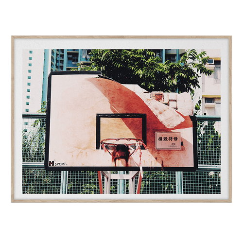 Paper Collective Cities of Basketball 06 (Hong Kong) poster