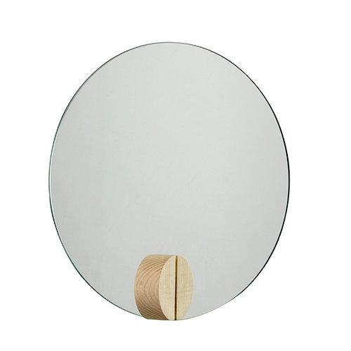 Skagerak Fullmoon mirror, 30 cm, ash