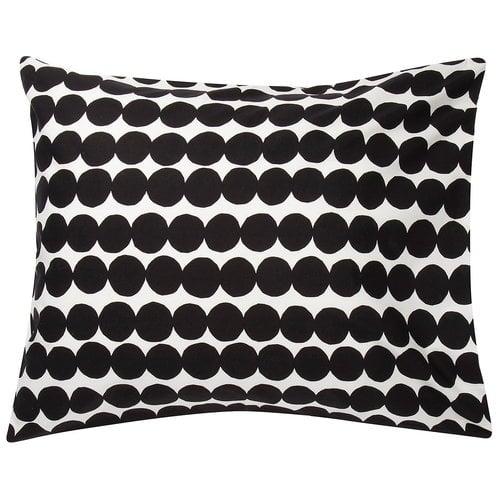 Marimekko R�symatto tyynyliina, valkoinen - musta