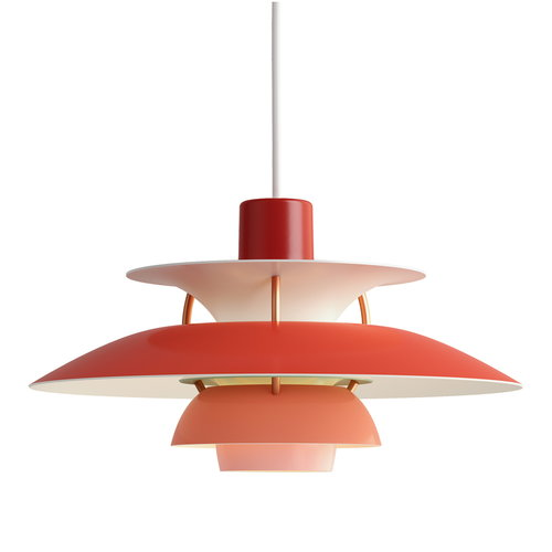 Louis Poulsen PH 5 Mini pendant, red