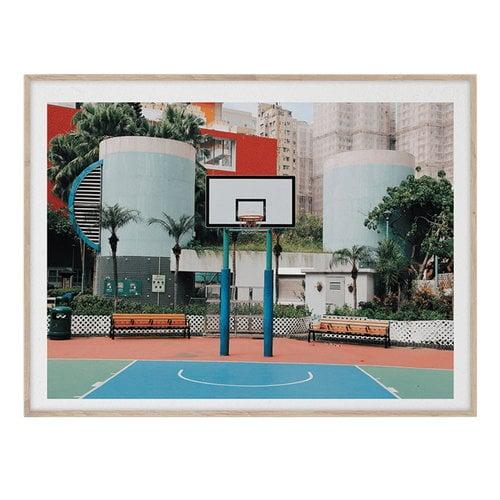 Paper Collective Cities of Basketball 04 (Hong Kong) poster