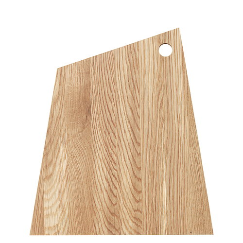 Ferm Living Asymmetric cutting board, large, oiled oak
