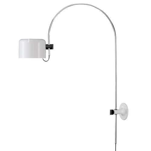 Oluce Coup� 1158 wall lamp, white