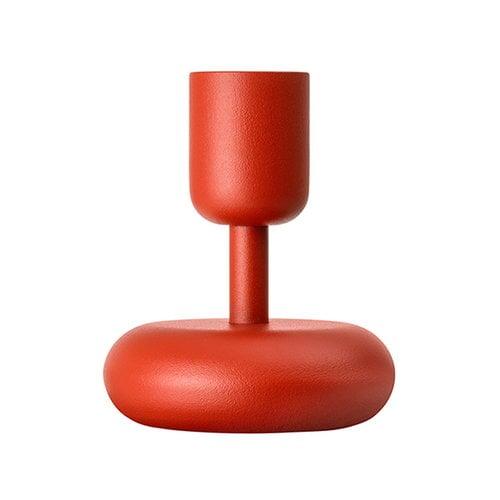 Iittala Nappula kynttil�njalka 107 mm, kyoto red