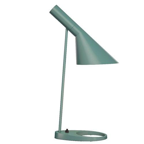 Louis Poulsen AJ table lamp, light petrol