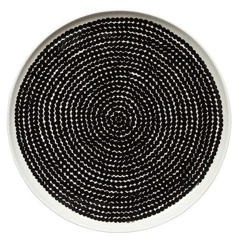 Marimekko Oiva - Räsymatto lautanen 25 cm