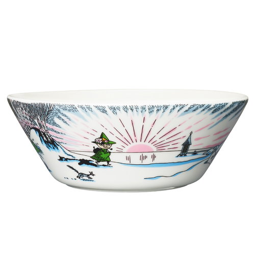 Arabia Moomin bowl, Spring Winter