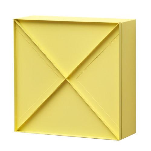 NakNak Super Narrow Slim cabinet, yellow