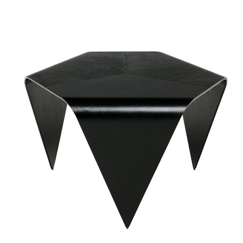 Artek Trienna coffee table, black