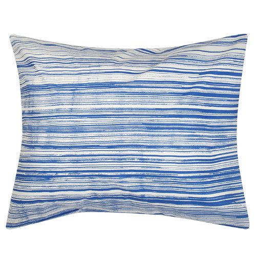 Marimekko Siluetti pillowcase, off white - blue