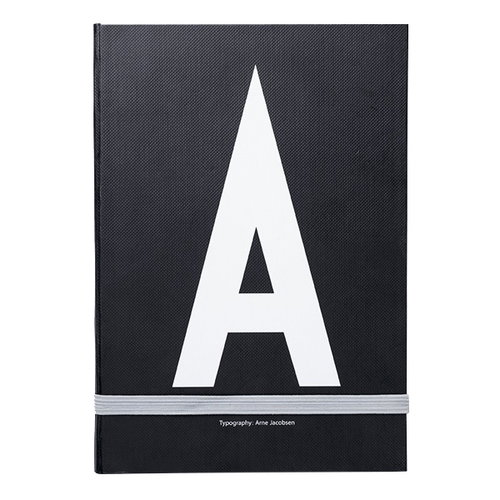 Design Letters Personal notebook A-Z