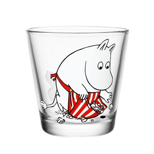 Iittala Moomin glass 21 cl, Moominmamma on the shore