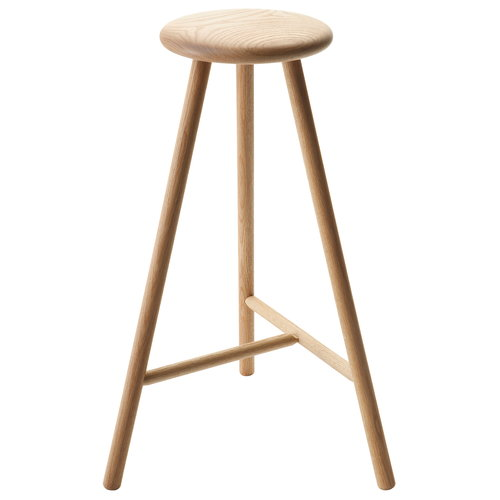 Nikari Perch bar stool 75 cm, oak