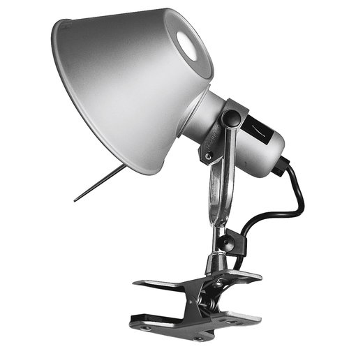 Artemide Tolomeo Pinza clip-on lamp, aluminium