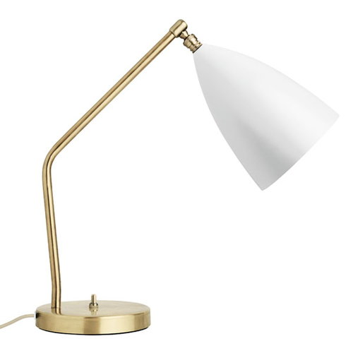Gubi Gr�shoppa table lamp, matt white