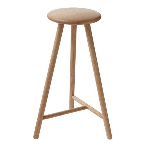 Nikari Perch bar stool 63 cm, oak