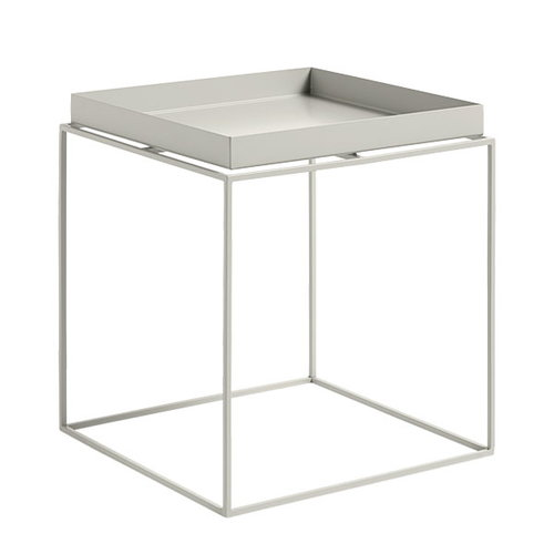 Hay Tray table medium square, warm grey