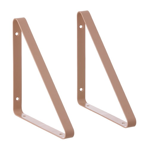 Ferm Living Shelf Hangers, 2 pcs, rose
