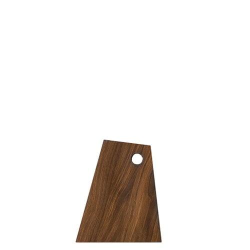 Ferm Living Asymmetric cutting board, small, smoked oak