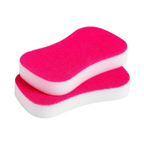 Hay Neon sponge, 2 pcs, pink