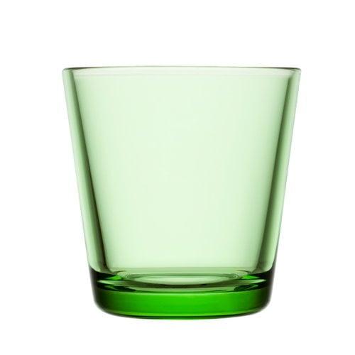 Iittala Bicchiere Kartio 21 cl, verde mela, 2 pz
