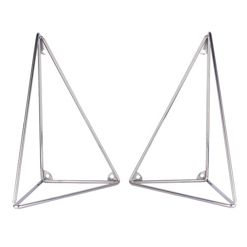 Maze Pythagoras brackets 2 pcs, chrome