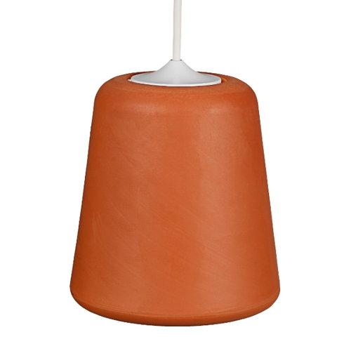 New Works Material lamp, Terracotta