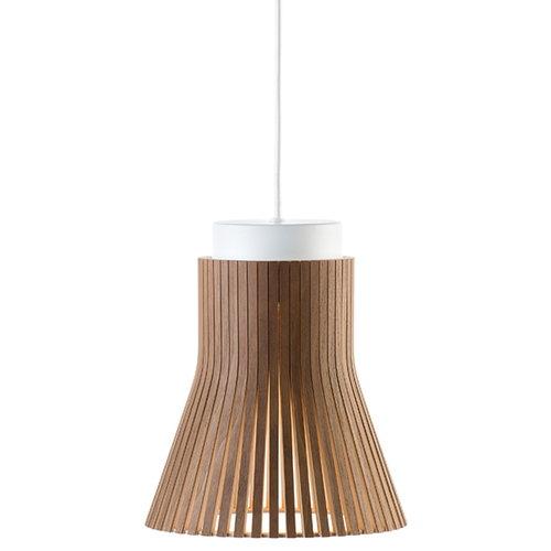 Secto Design Petite 4600 pendant lamp, walnut