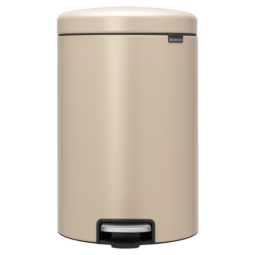 Brabantia Pattumiera a pedale newIcon 20 L, Sense of Luxury, oro
