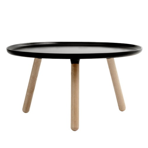 Normann Copenhagen Tablo table large, matt black