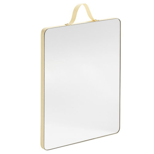 Hay Ruban rectangular mirror, M, yellow