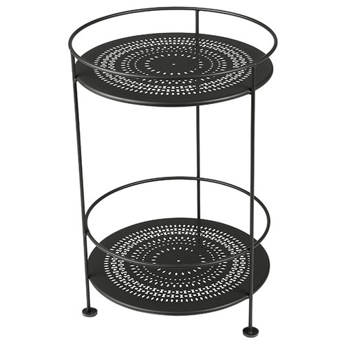Fermob Gueridons table, liquorice