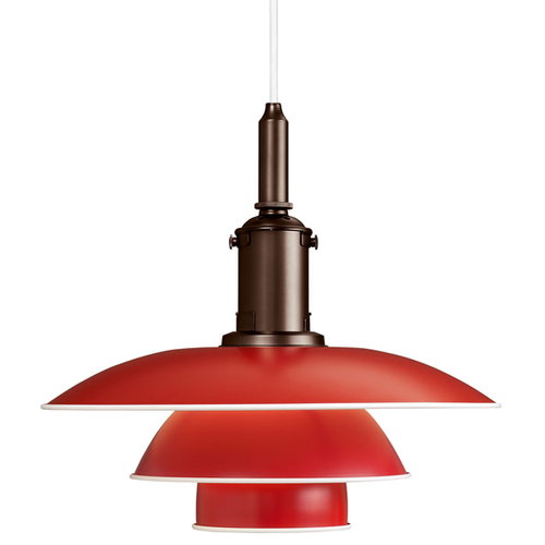 Louis Poulsen PH 3 1/2-3 pendant, red